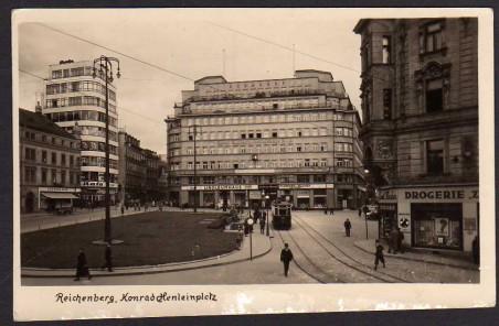 Historická fotografie Soukenného náměstí